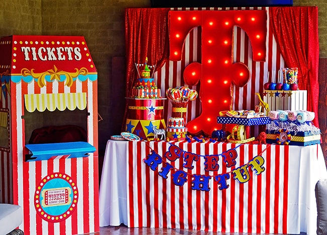 Kid's Party Ideas - Carnival